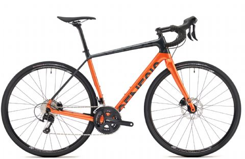 Genesis Datum 20 Adventure Bike Orange 2018